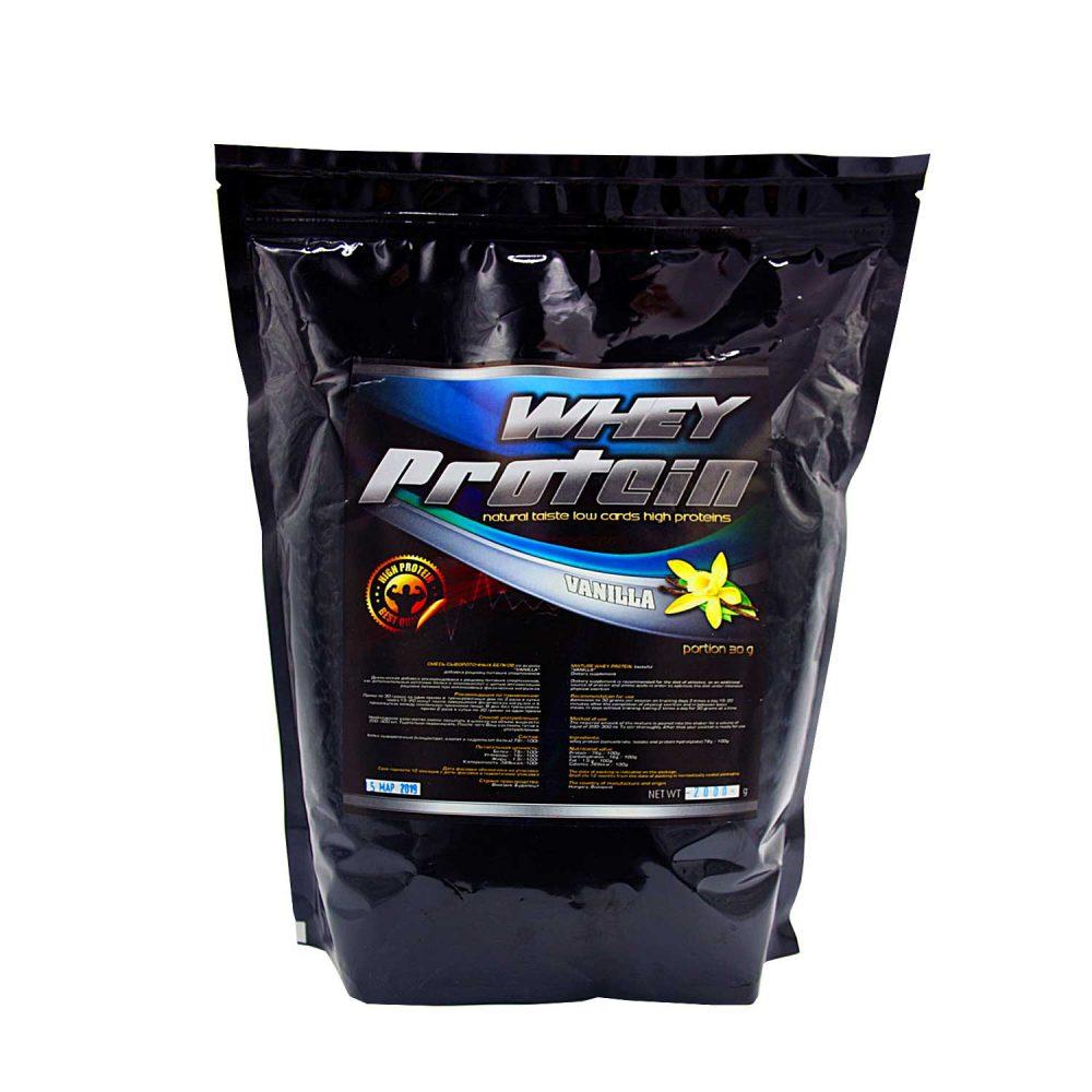 Купить протеин сывороточный для набора мышечной массы вкус ваниль- в интернет магазине спортивного питания в Украине - tvoy-prot.com.ua - отзывы, цена, состав, как принимать