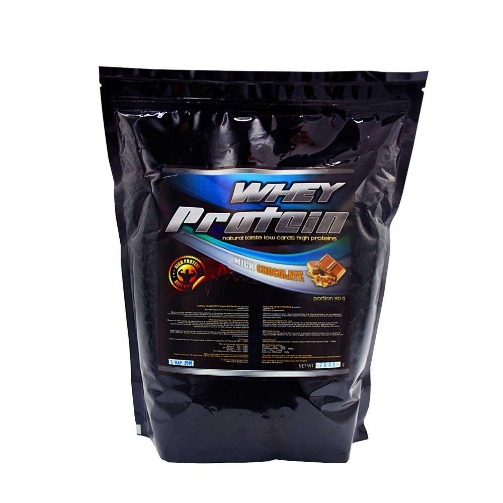Купить протеин сывороточный для набора мышечной массы вкус молочный шоколад - в интернет магазине спортивного питания в Украине - tvoy-prot.com.ua - отзывы, цена, состав, как принимать