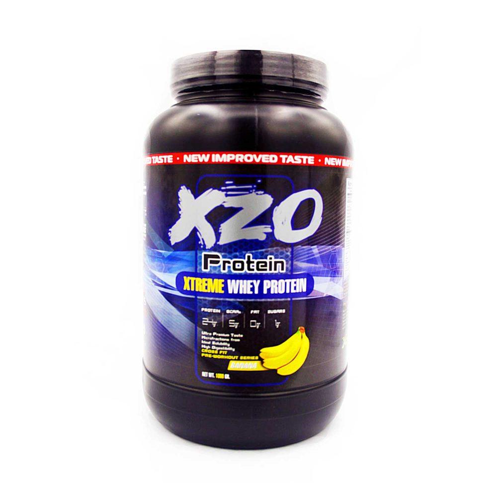 Купить сывороточный протеин-комплексный протеин с бсаа- XZO Nutrition вкус банан - в интернет магазине спортивного питания В Украине Tvoy-Prot - отзывы, цена,