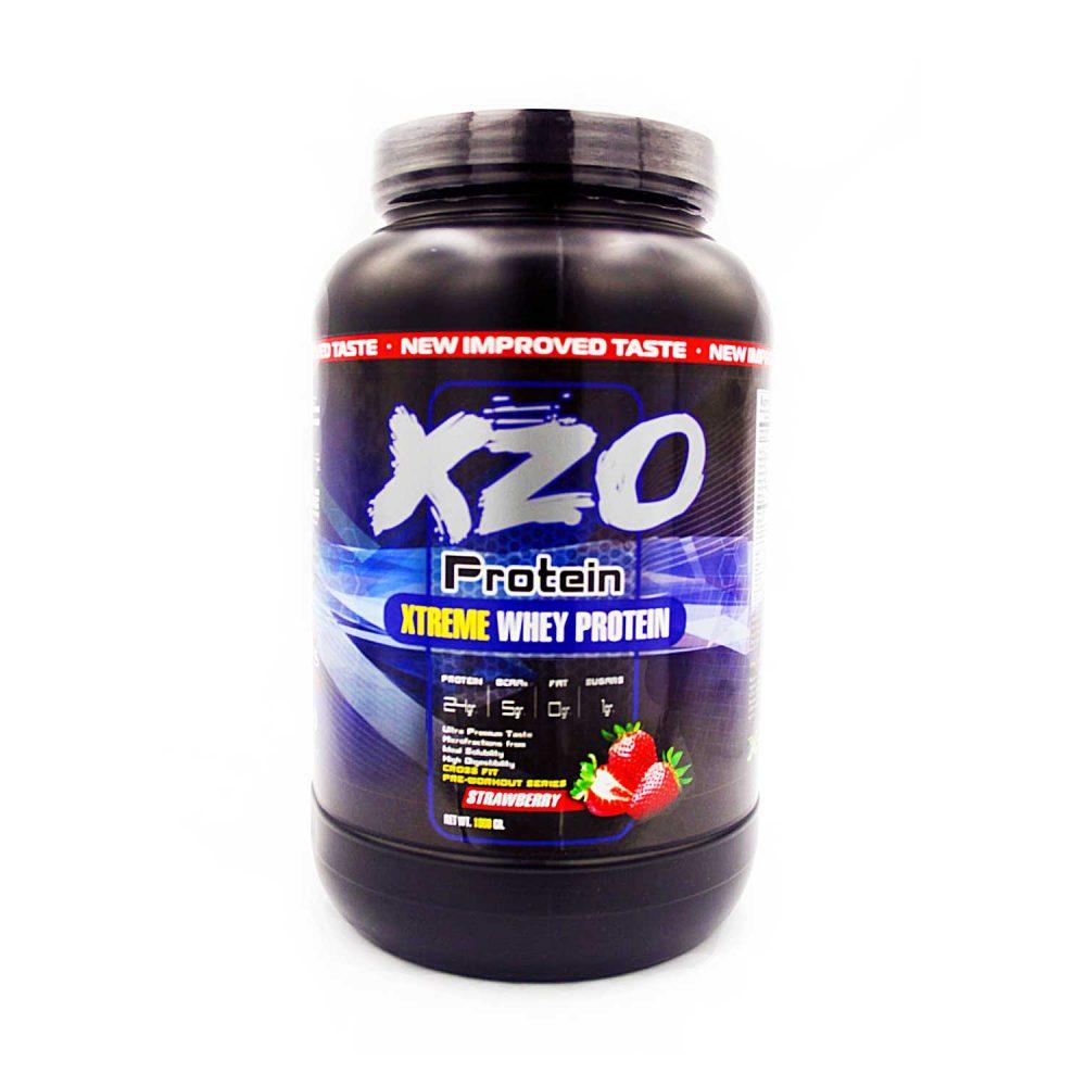 Купить сывороточный протеин-комплексный протеин с бсаа- XZO Nutrition вкус клубника - в интернет магазине спортивного питания В Украине Tvoy-Prot - отзывы, цена, описание