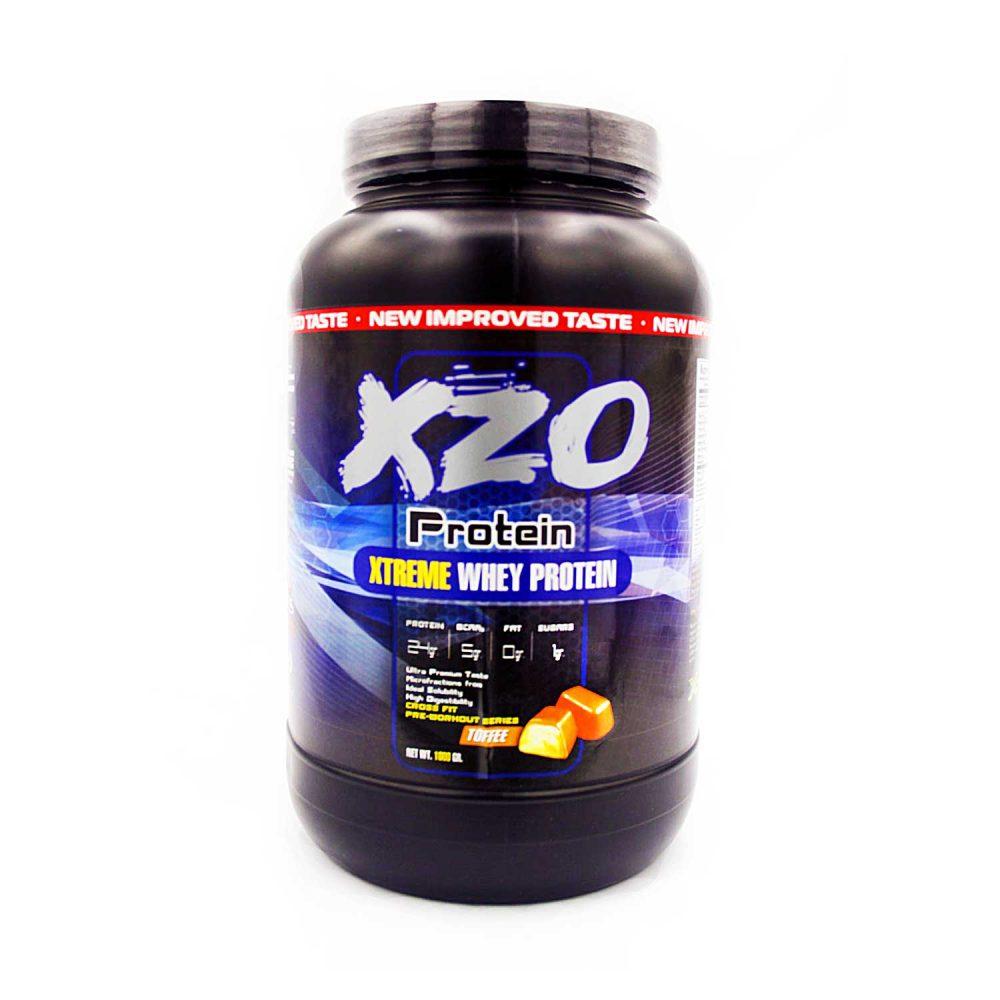 Купить сывороточный протеин-комплексный протеин с бсаа- XZO Nutrition вкус тоффи(ирис) - в интернет магазине спортивного питания В Украине Tvoy-Prot - отзывы, цена,
