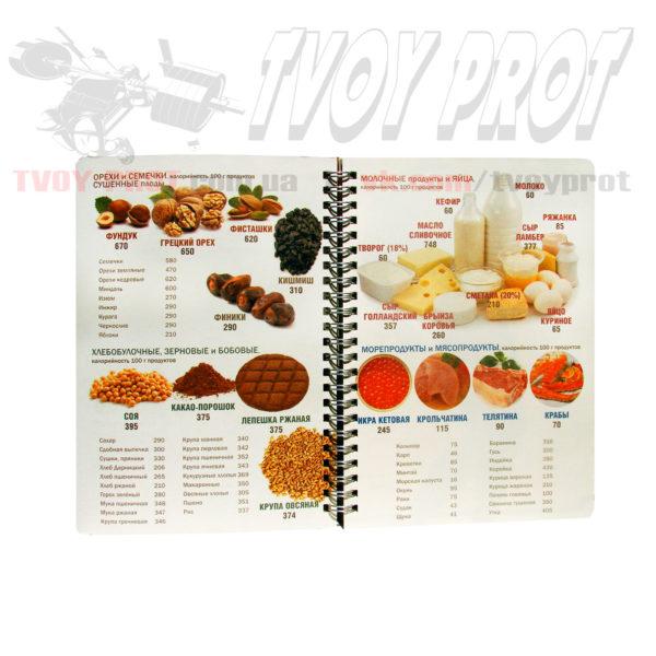 Дневник тренировок для спортсменов и фитнесса - питание овощи, мясо