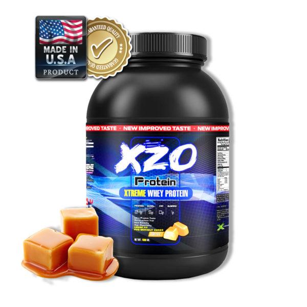 Купить сывороточный протеин-комплексный протеин с бсаа- XZO Nutrition вкус тоффи(ирис) - в интернет магазине спортивного питания В Украине Tvoy-Prot - отзывы, цена, состав, как принимать,
