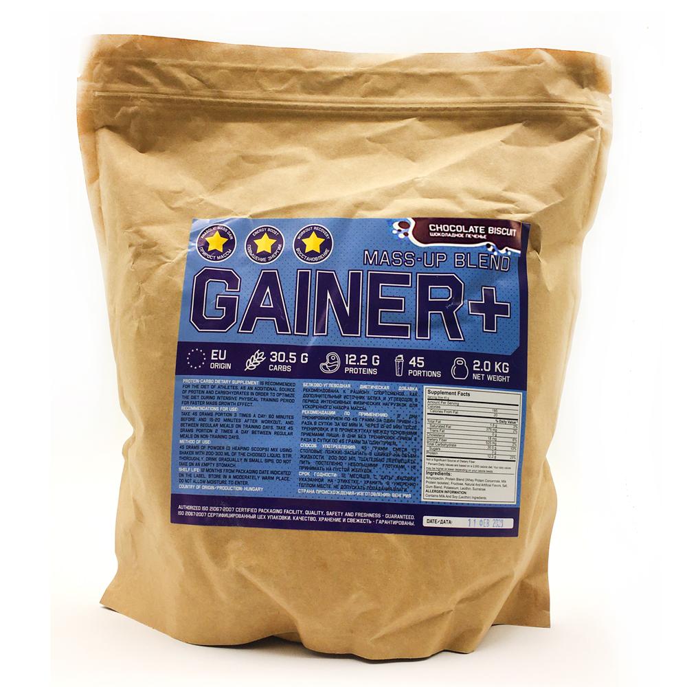 Купить Gainer гейнер для набора массы, вкус шоколадное печенье в интернет магазине спортивного питания в Украине tvoy-prot.com.ua - отзывы, цена, как принимать, состав укр