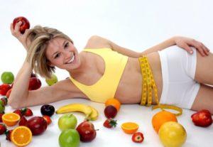 Женская спортивная диета для похудения