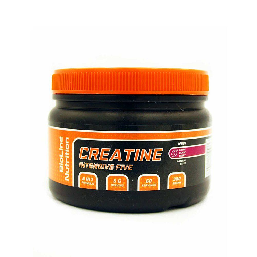 Купить Креатин моногидрат BioLine Nutrition - вкус ежевика в интернет магазине спортивного питания Tvoy-Prot.com.ua - отзывы, цена, состав, свойства, фото