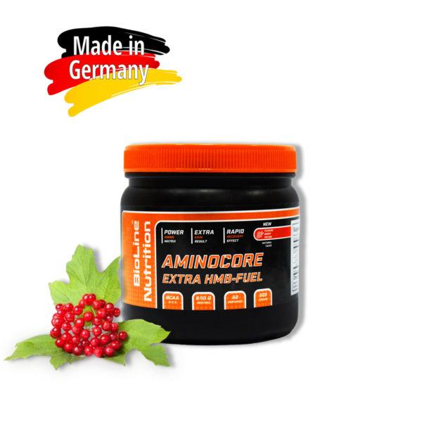 Купить AminoCore - аминокоре аминокислоты всаа (bcaa) 8:1:1 BioLine Nutrition вкус - молодильная ягода в интернет магазине спортивного питания Tvoy-Prot.com.ua - состав, цена, фото, отзывы, как принимать, оригинал