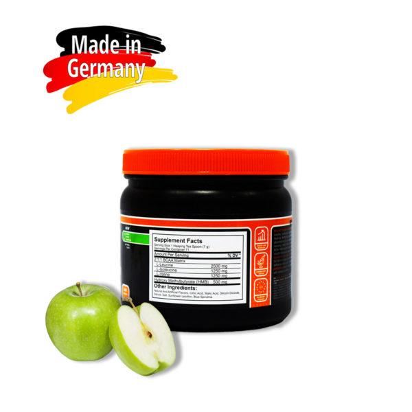 Купить аминокислоты всаа (bcaa) BioLine Nutrition вкус - зеленое яблоко в интернет магазине спортивного питания Tvoy-Prot.com.ua - отзывы, цена, состав, как принимать - обратная сторона
