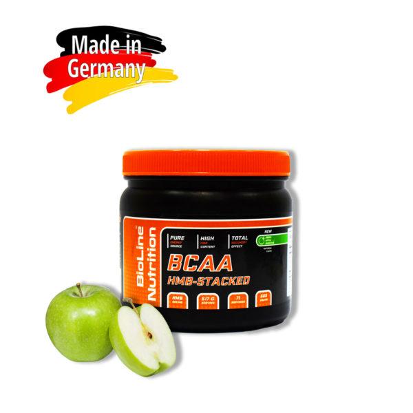 Купить аминокислоты всаа (bcaa) BioLine Nutrition вкус - зеленое яблоко в интернет магазине спортивного питания Tvoy-Prot.com.ua - отзывы, цена, состав, как принимать