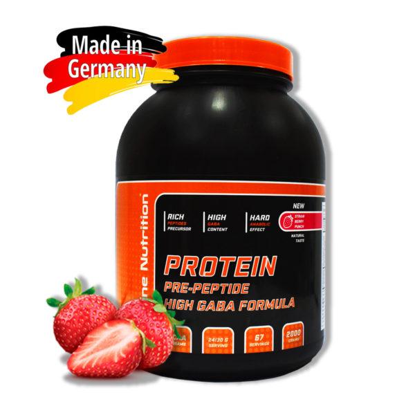 Купить сывороточный протеин BioLine Nutrition вкус - земляничный пунш в интернет магазине спортивного питания В Украине Tvoy-Prot - отзывы, цена, состав, как принимать,