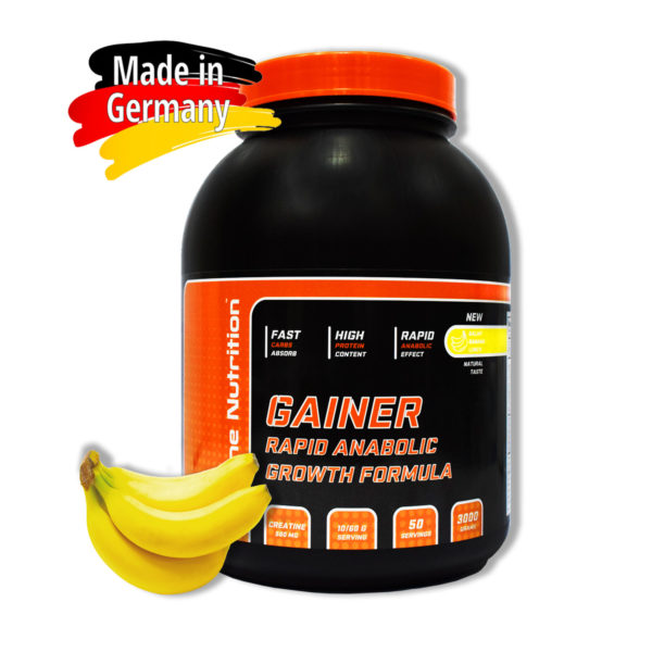 Купить Gainer Rapid Anabolic гейнер для набора массы BioLine Nutrition вкус - банан - в интернет магазине спортивного питания tvoy-prot.com.ua - отзывы, цена, состав