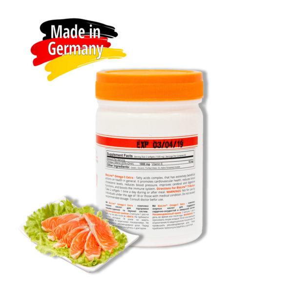 Купить рыбий жир BioLine Nutrition Omega-3-6-9 в Украине - интернет магазин спортивного питания tvoy-prot.com.ua - состав, цена, отзывы, как принимать, эффект.