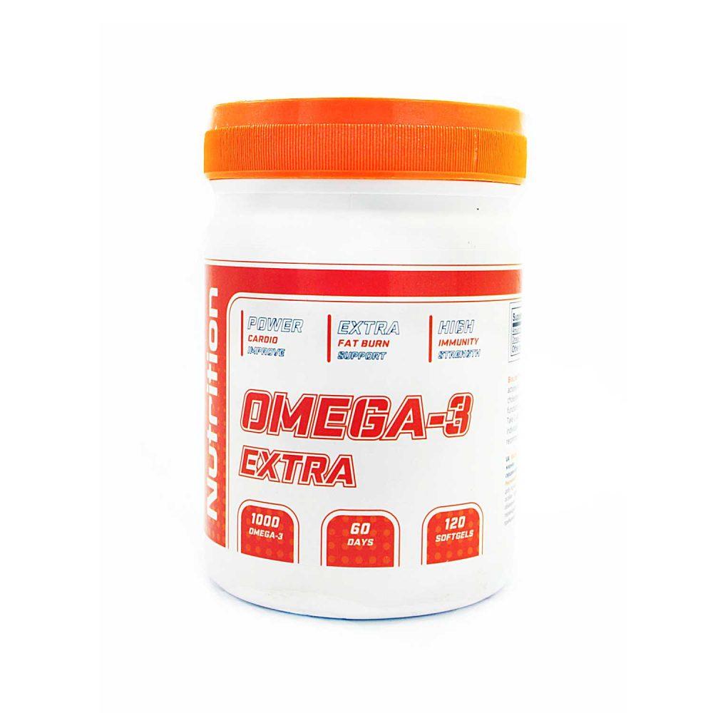 Купить рыбий жир BioLine Nutrition Omega-3-6-9 в Украине - интернет магазин спортивного питания tvoy-prot.com.ua