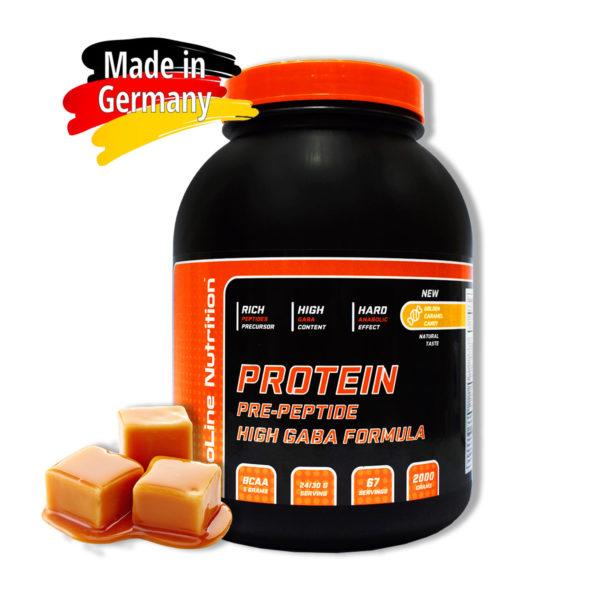 Купить сывороточный протеин BioLine Nutrition вкус - золотая карамель в интернет магазине спортивного питания В Украине Tvoy-Prot - отзывы, цена, состав, как принимать,