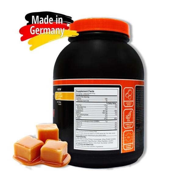 Купить сывороточный протеин BioLine Nutrition вкус - карамель в интернет магазине спортивного питания В Украине Tvoy-Prot - отзывы, цена, состав, как принимать,