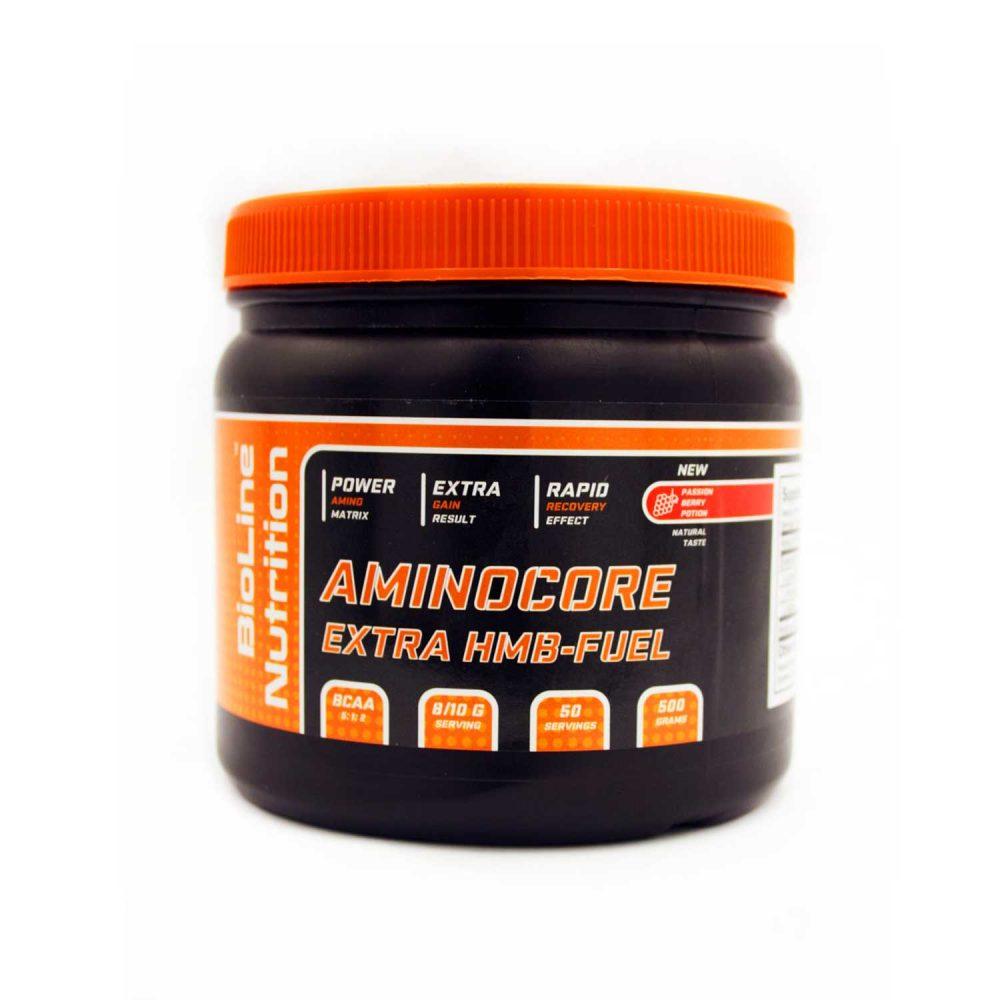 Купить AminoCore - аминокоре аминокислоты всаа (bcaa) 8:1:1 BioLine Nutrition вкус - молодильная ягода в интернет магазине спортивного питания Tvoy-Prot.com.ua - цена, фото, отзывы, для женщин - девушек