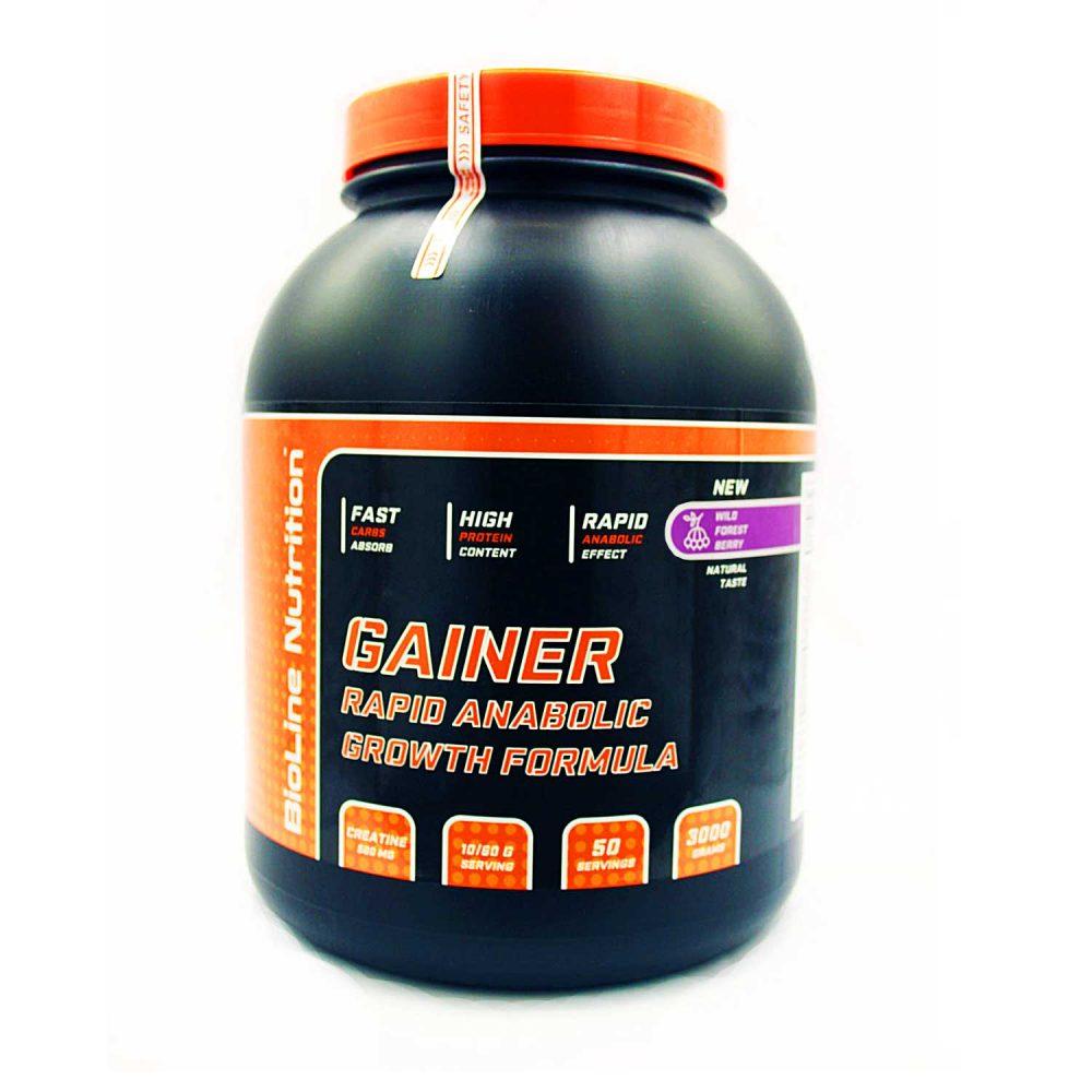 Купить Gainer Rapid Anabolic гейнер для набора массы BioLine Nutrition вкус лесная ягода в интернет магазине спортивного питания в Украине tvoy-prot.com.ua