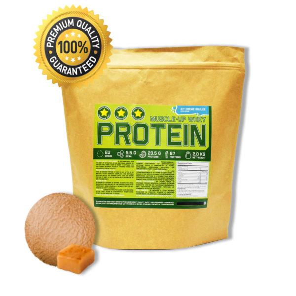 Купить протеин сывороточный для набора мышечной массы вкус крем брюле - в интернет магазине спортивного питания в Украине - tvoy-prot.com.ua - отзывы, цена, состав, как принимать