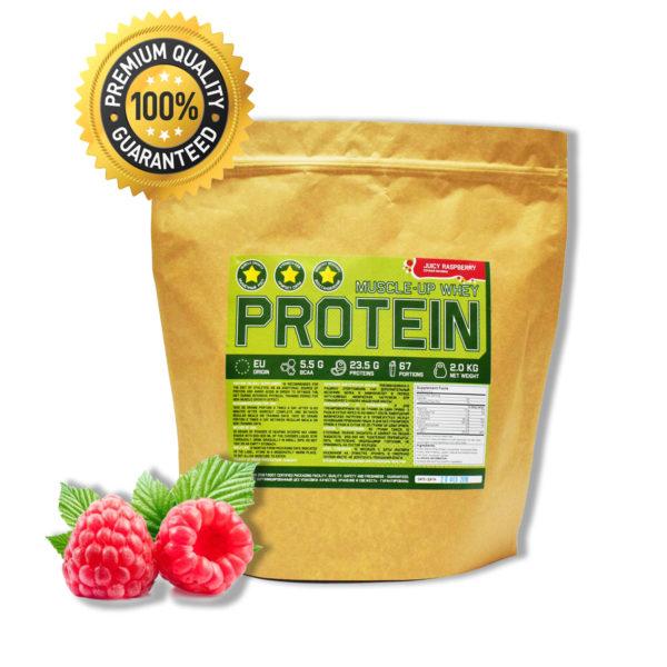 Купить протеин сывороточный для набора мышечной массы вкус сочная малина - в интернет магазине спортивного питания в Украине - tvoy-prot.com.ua - отзывы, цена, состав, как принимать