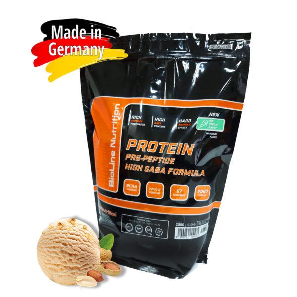Купить сывороточный протеин BioLine Nutrition вкус - мороженное (пломбир) в интернет магазине спортивного питания В Украине Tvoy-Prot - отзывы, цена, состав, как принимать,