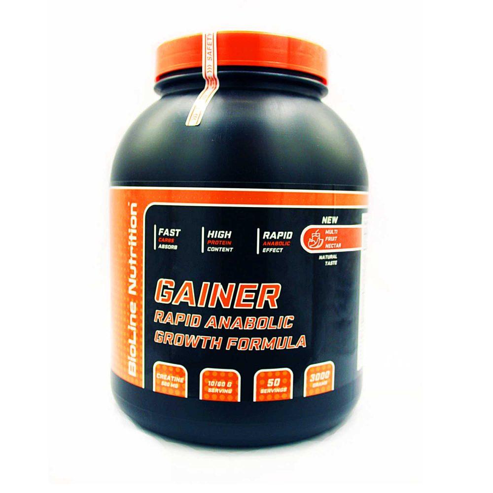 Купить Gainer Rapid Anabolic гейнер для набора массы BioLine Nutrition вкус мультифрукт в интернет магазине спортивного питания tvoy-prot.com.ua