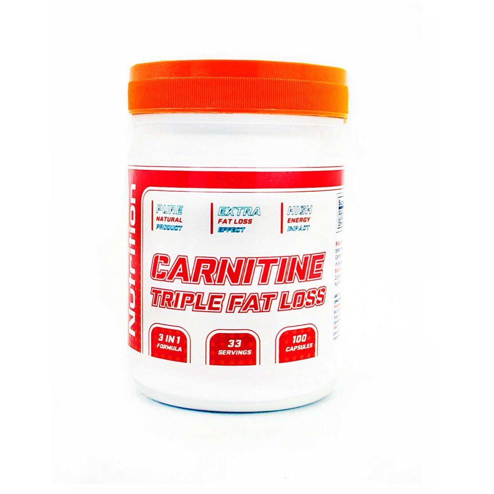 Купить жиросжигатель Л-карнитин (carnitine) в капсулах Bio Line в интернет магазине спортивного питания в Украине оптом и в розницу tvoy-prot.com.ua - описание, отзывы, цена,