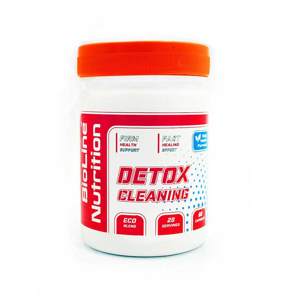 Купить DETOX (детокс) BioLine Nutrition комплекс для очистки от токсинов и шлаков организма - в капсулах: состав, цена, отызвы, как принимать, описание - не аптека - tvoy-prot.com.ua