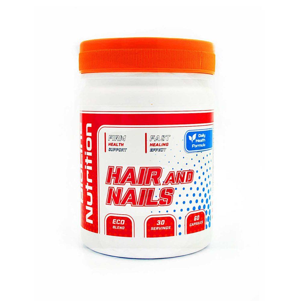 Купить Hair and Nails BioLine Nutrition в Украине комплекс витаминов для волос и ногтей- в капсулах: состав, цена, отызвы, как принимать, описание - не аптека - tvoy-prot.com.ua