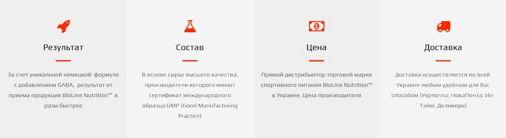 Купить спортивное питание с доставкой по Украине BioLine Nutrition - гарантия, цена, качество - tvoy-prot.com.ua