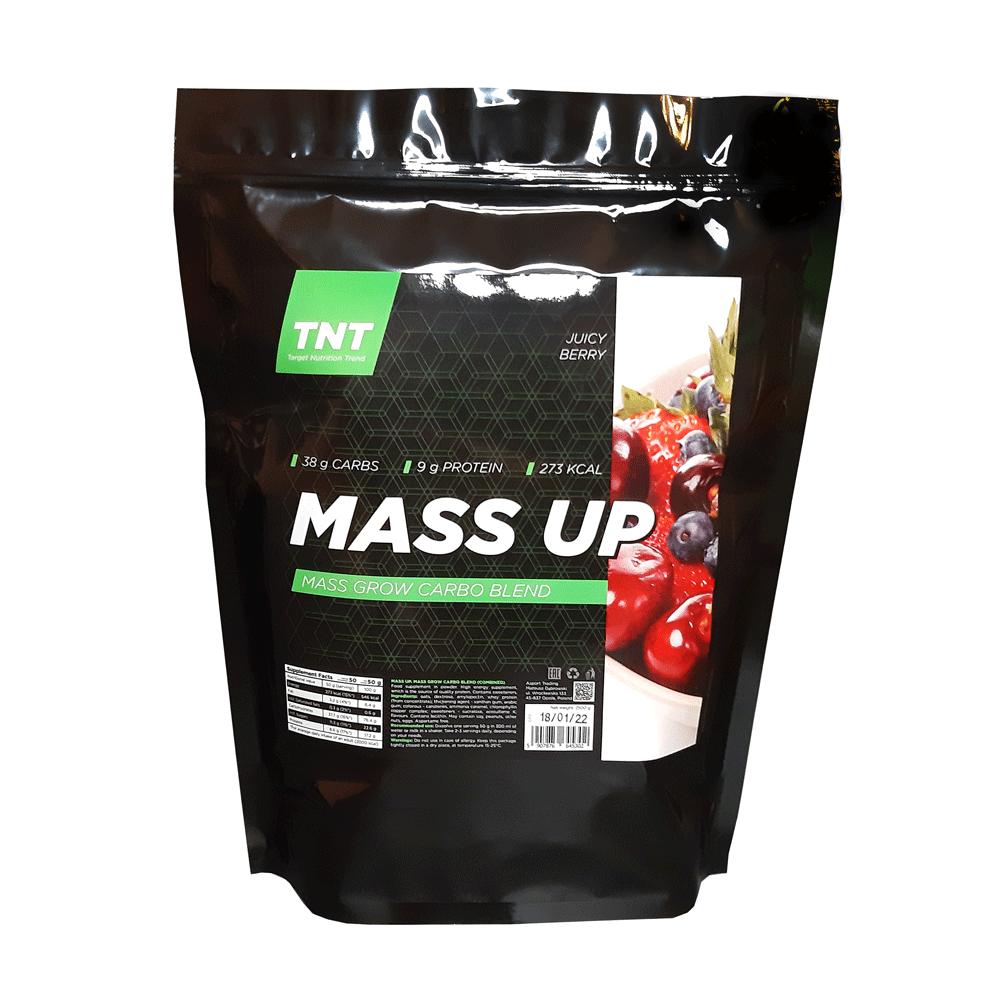 Купить гейнер для набора массы и роста мышц TM TNT (Target Nutrition Trend) вкус: сочная ягода Whey 80 цена, фото, состав, отзывы на сайте tvoy-prot.com.ua