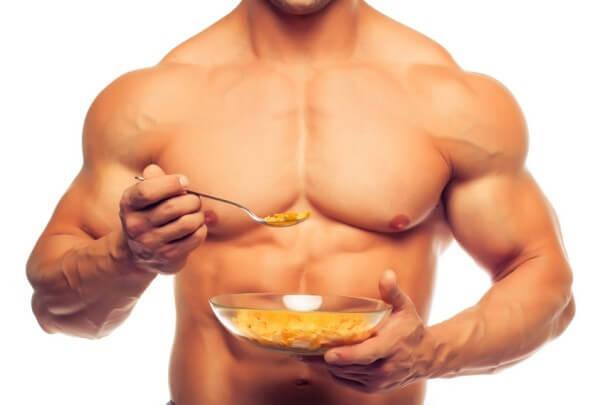 Питание при наборе массы