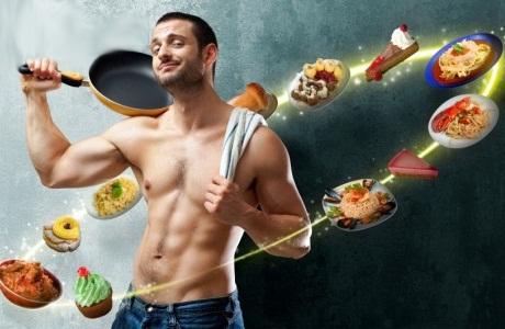 Спортивная диета для мужского рельефа